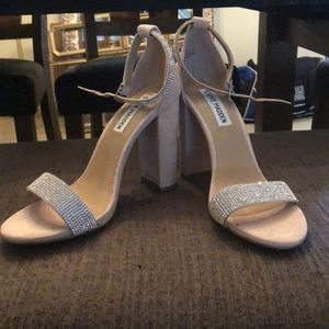 Steve Madden Jeweled thick heel